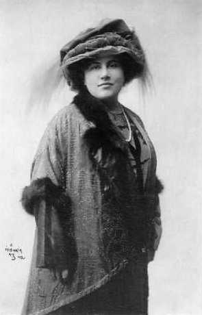 Prague Opera: Czech greatest opera diva Emmy Destinn (1878 - 1930), partner of Caruso and Toscanini